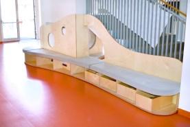 Prostor pod schodištěm