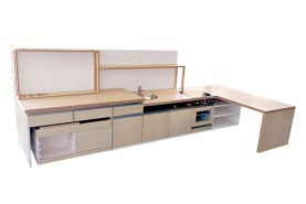 Kuchyňka s technickým koutkem
