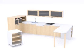 Kuchyňka tvaru U