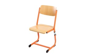 Žákovská židle nastavitelná